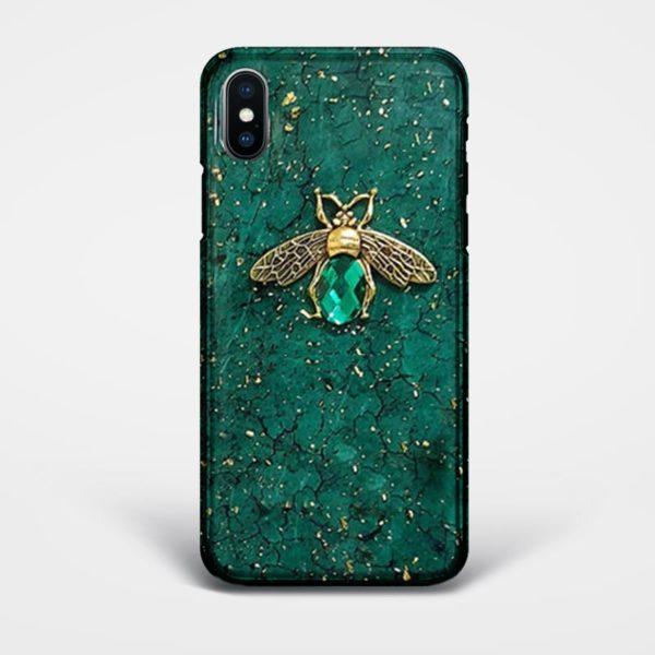 bee luxury iphone case