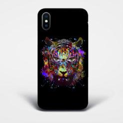 vibrant tiger phone case