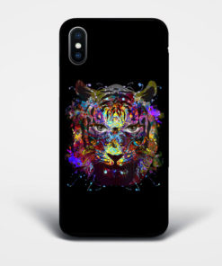 vibrant tiger phone case
