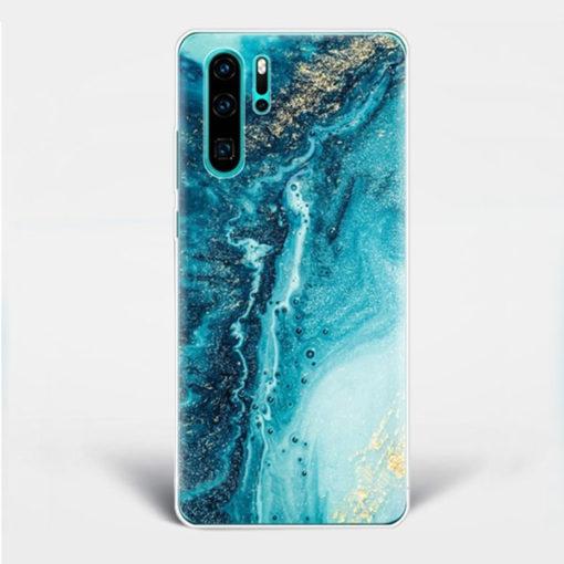 blue dream huawei case