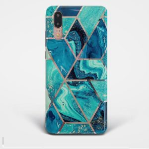 Geometric-Marble-Huawei-Case
