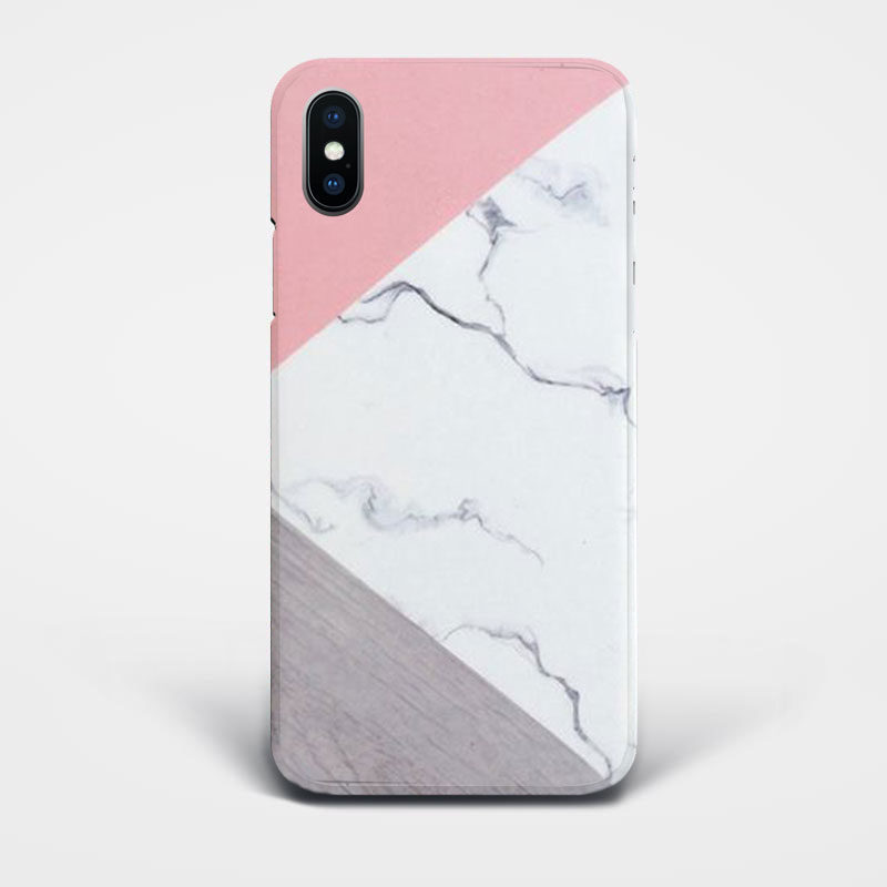 marble splice iphone case