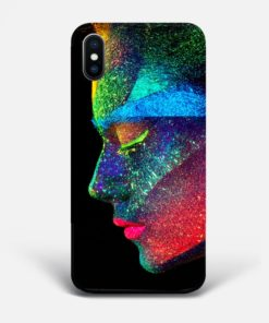 UV Portrait iPhone Case