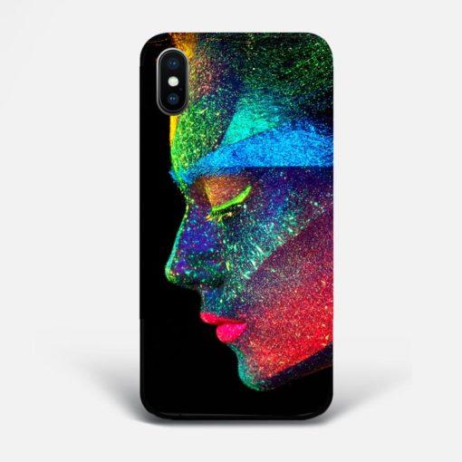UV Portrait iPhone Case