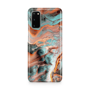 Marble Rust Galaxy S20 Phone Case