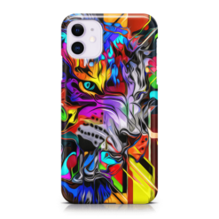 Jungle King Abstract iPhone Case