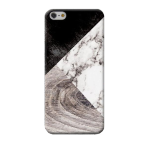 Marble & Wood Samsung Case