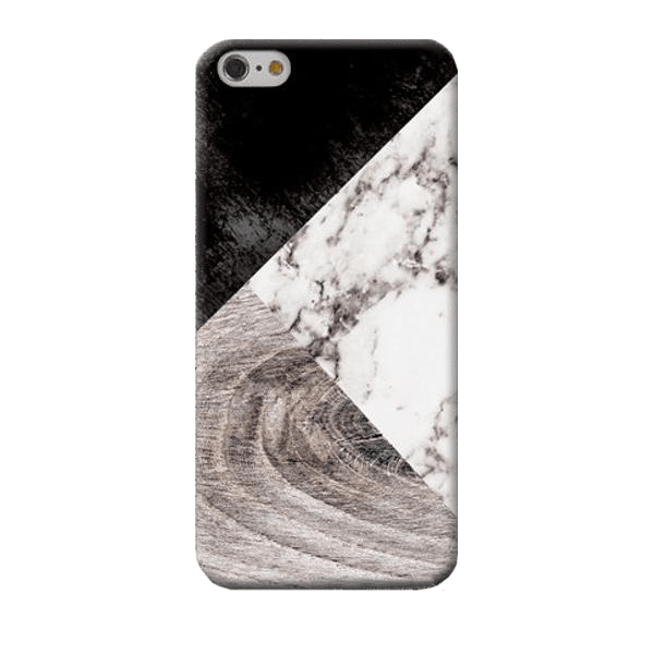 Marble & Wood Samsung Case