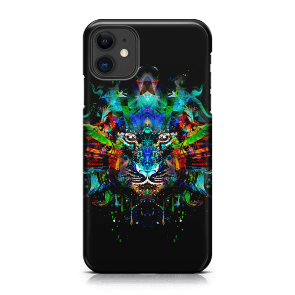 Psychadelic Feline iPhone Case