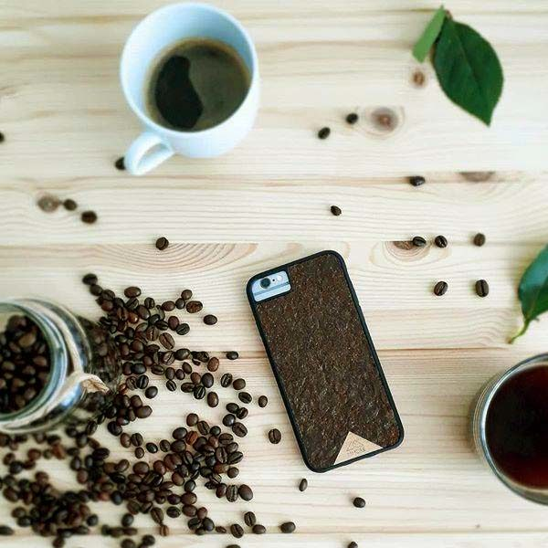 Organika Real Coffee iphone case