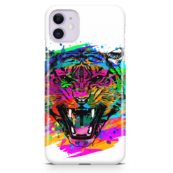 Abstract Tiger iPhone Case