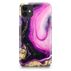 Amethyst Galaxy iPhone Case