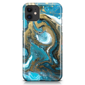 Coral Goldust iPhone Case