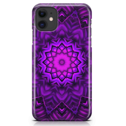 Futuristic Mandala-iPhone-Case