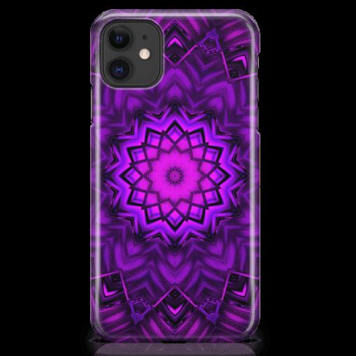 Futuristic Mandala-iPhone-Case