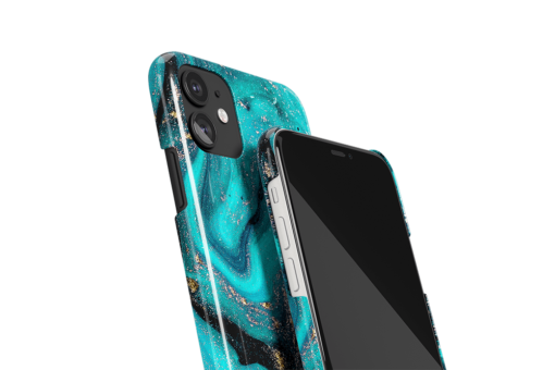 Tourquoise Galaxy Phone Case
