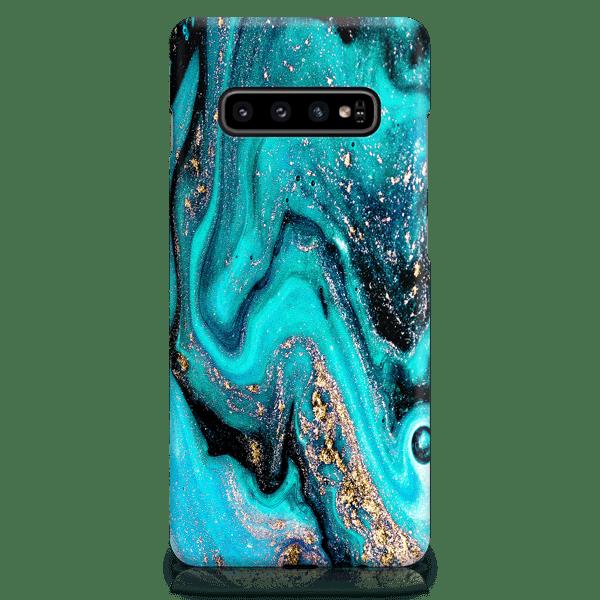 Tourquoise Galaxy Samsung Case