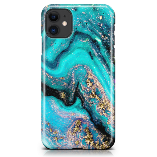 Tourquoise Galaxy iPhone Case