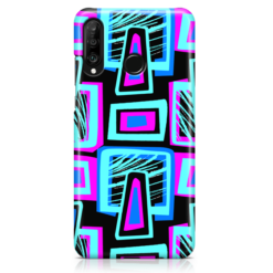 Neon Blox Huawei Phone Case