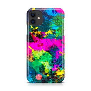Abstract Splatter iPhone Case