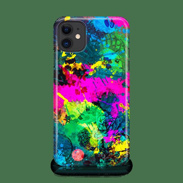 Abstract Splatter iPhone Case
