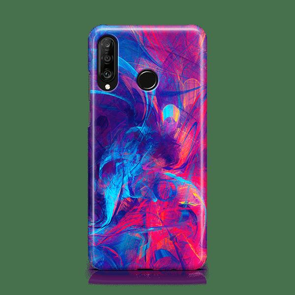 Contrast Scribble Huawei Phone Case