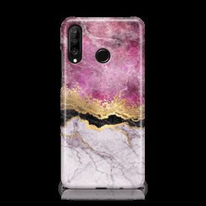 Fuschia Marble-Huawei-Case