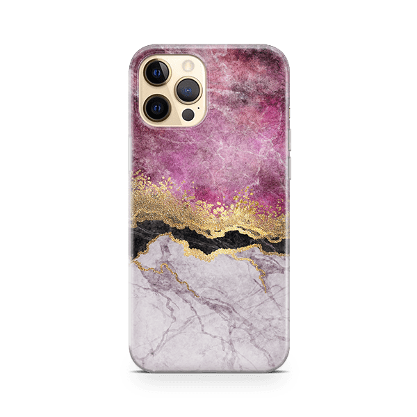 Fuschia Marble iphone 11 Case