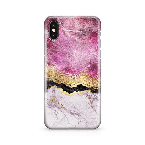 Fuschia Marble iphone 11 Case