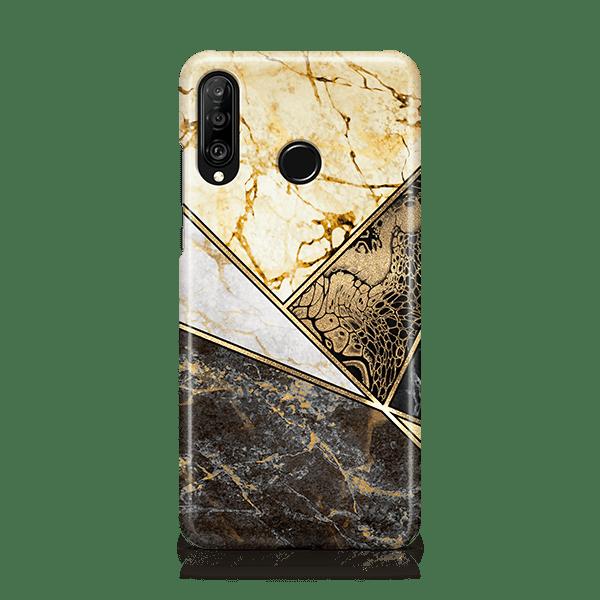Geometric Marble-Huawei-Case