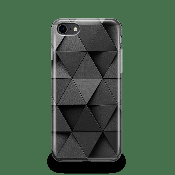 Monochrome Triangles iPhone Case
