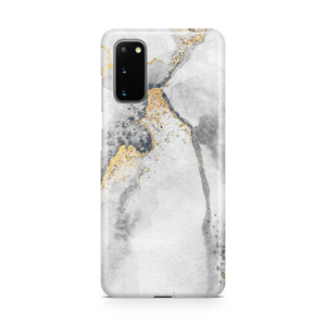 Gold Spec Marble Phone Case