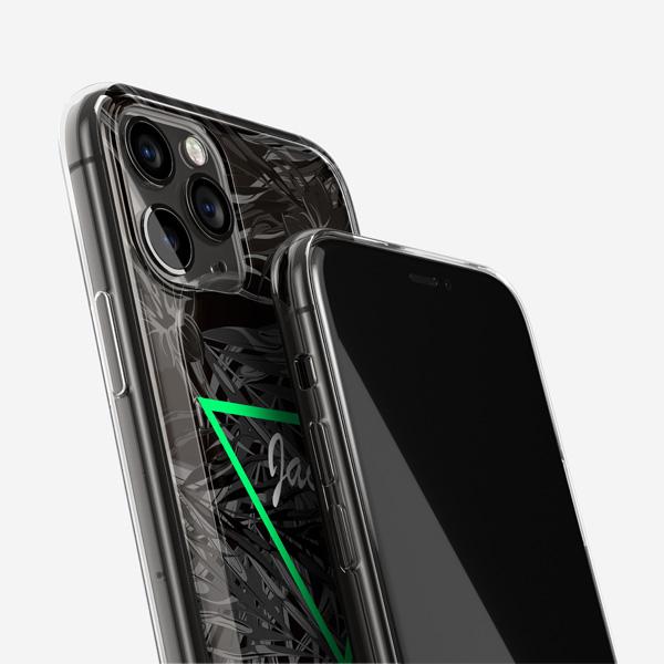 Grayscale-Garden-Phone-Case