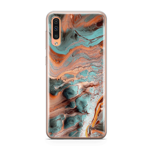 Marble Rust Galaxy A50 soft case