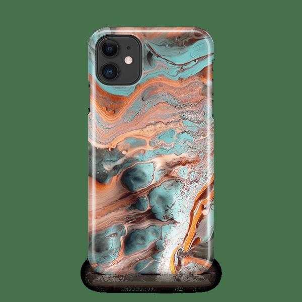 Marble Rust iphone 11 phone case