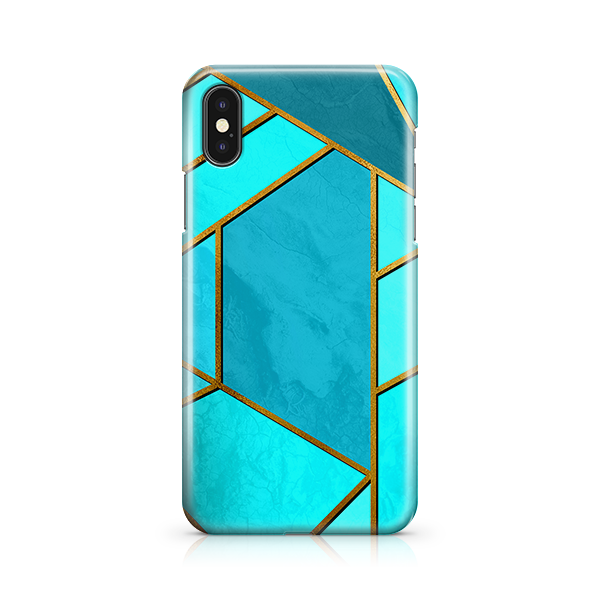 Moderna Teal iPhone 10 Case