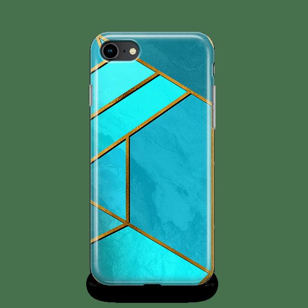 Moderna Teal iPhone 11 Case-min