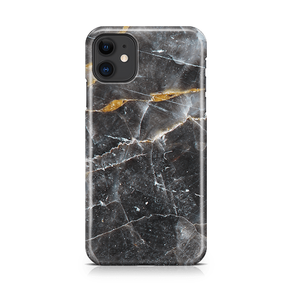 Noir Marble iphone 11 phone case