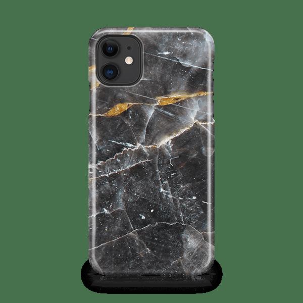 Noir Marble iphone 11 phone case