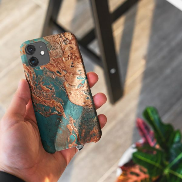 Rust-Drip-Phone-Case