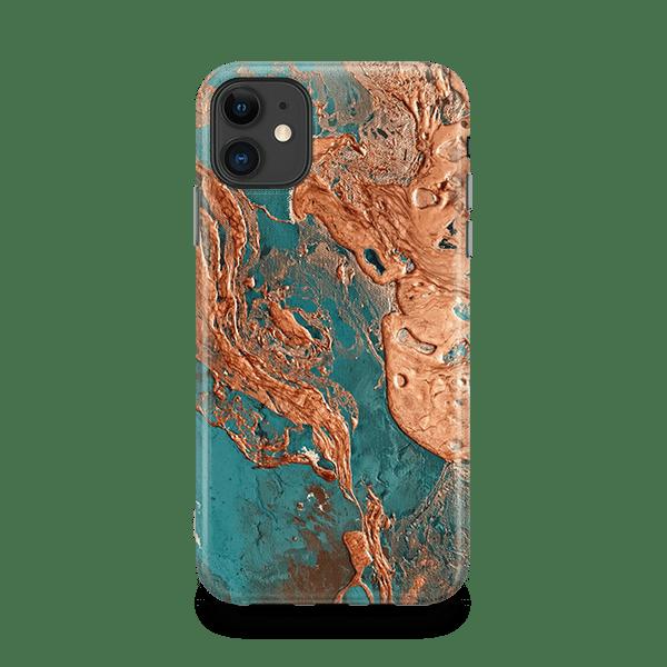 Rust Drip iphone 11 snap case