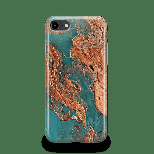 Rust Drip iphone 8 snap case
