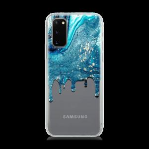Blue Stardust Huawei samsung galaxy s20 Case