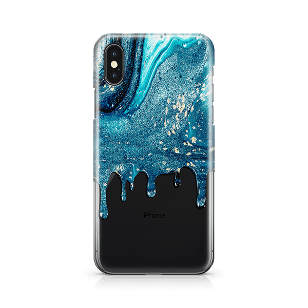 Blue Stardust iphone 11 case