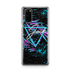 Neon Jungle Samsung Galaxy s20 soft case