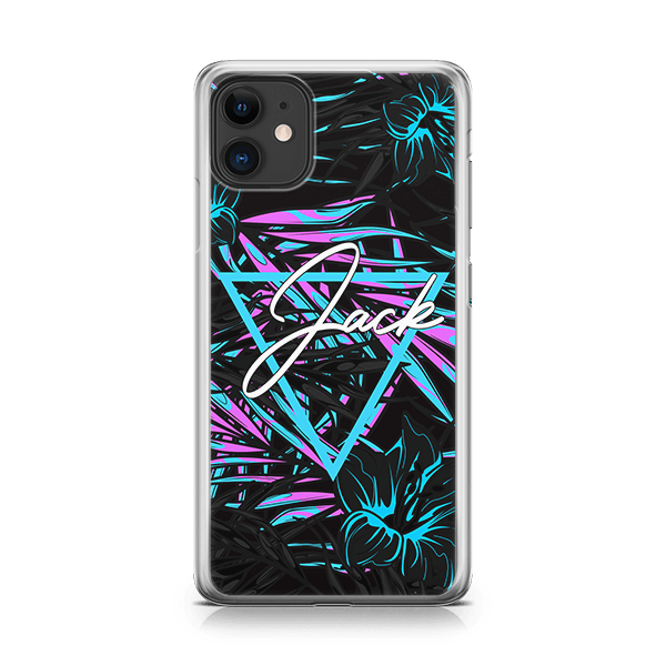 Neon Jungle iPhone 11 soft case