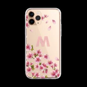 Cherry Blossoms Monogram iphone 11 case