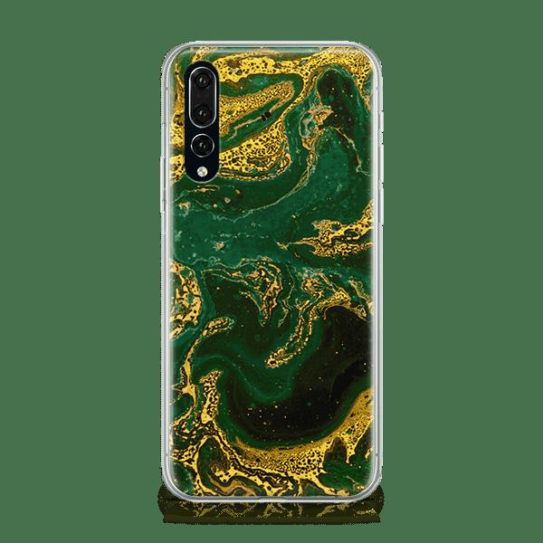Emerald Gold Huawei P20 Case