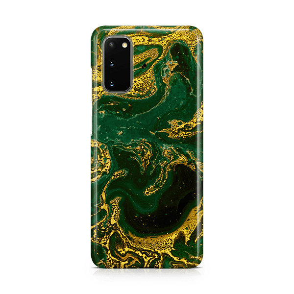 Emerald Gold Samsung s20 case