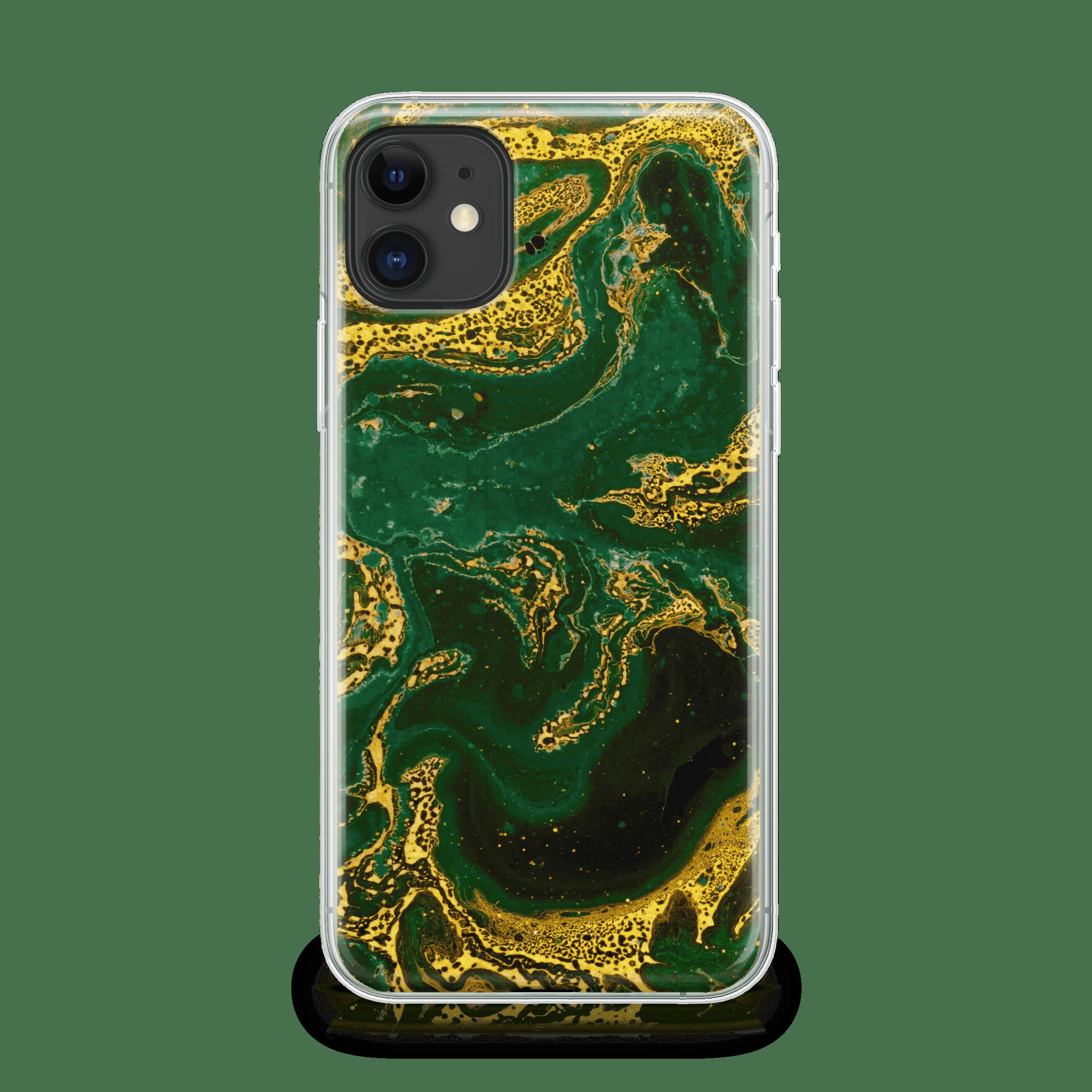 Emerald Gold iPhone 11 soft Case